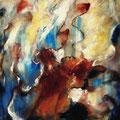 """""""ohne Titel"""" - Öl auf Leinwand 110 x 90 cm, 2010"""