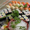 Sushi, Maki und California Maki