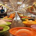 Running Buffet - Essen vom Laufband