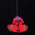 Rode vis 55x55x145cm