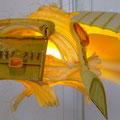 Gele diepzeevis 60x35x20cm