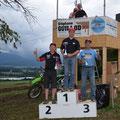 Siegerehrung mit dem ehemaligen Motocross-Weltmeister Sten Lundin