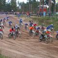 Start zum 1. Lauf Team-EM in Vimmerby/Schweden