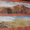 bam vor und nach dem erdbeben