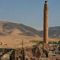 minarett mit storchennest