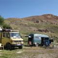 zusammen mit wilm und sylvi auf dem camping