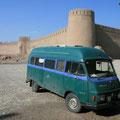 vor citadelle in rayen, iran