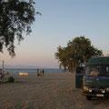 am strand von elboea, griechenland