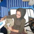 frisches getriebeöl für unseren bus