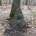 """""""Schubertstein"""", ein Gedenkstein"""