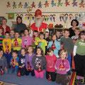 Der Nikolaus in der 1. Klasse