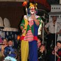 Kinderunterhaltung mit Clown Ferdi - Feuerjonglage