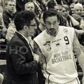 Coach Hamed Attarbashi mit Steffen Kiese