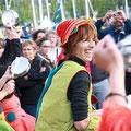 Fanfare Ploukatak de Questembert - Fête de la Musique 2012 - Vannes (Isabelle Johancik - Ouest France)