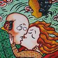 "Anja Mattenklott: ""Vom Winde verweht"", 40 cm x 50 cm, 1998"