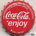 Coca-Cola enjoy vivez l'instant Socièté des brasseries de l'ouest Africain (S.O.B.O.A)  Dakar Texte sur la jupe:société des brasseries de l'ouest Africain (S.O.B.O.A) B.P.290 Dakar Sénégal concessionnaire a consommer de préférence avant fin