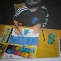 Tom* malt sein Bild