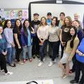 Kunstworkshop HSZG mit Ukrainischen Studenten 2017