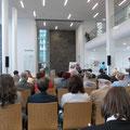 Eröffnung im Foyer des Neuen Augusteums