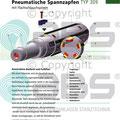 Pneumatischer Spannzapfen Typ309