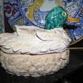 papera di ceramica realizzata a mano
