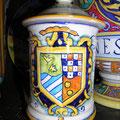 barattolo di ceramica per spezie