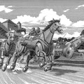 機械馬の競馬場