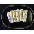 岡山県産木村式自然栽培米ヒメノモチ、岡山県産黒豆、自然塩使用 豆餅:おもちの黒川