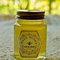 岡山県産木村式自然栽培の圃場に自生したレンゲのハチミツ