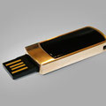 USB Stickvergolden, USB Stick in Gold, vergoldet, Glanz gold,Feingold.