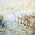 Venise - Canale Grande                  Huile sur Toile
