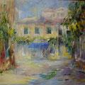 Venise - Il gazzettino                       Huile sur toile 15 M
