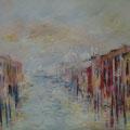 Venise  - Canale Grande                  Huile sur toile  30P