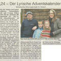 24 - Der lyrische Adventsaklender