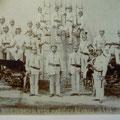 Historische Aufnahme SDH Revnice 1905