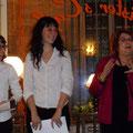 Ilène Grange- Lucie Lalande- Simone Brunel-Bacot - un amour transatlantique-Montpellier Quartier st Roch-Ecusson- 02/2014:photo Jean marie Quiesse