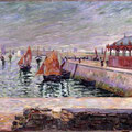 Port en Bessin - http://www.reproarte.com/tableau/Paul_Signac/Le+march%C3%A9+de+poissons_+Port-en-Bessin+/15981.html