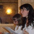 Ilène Grange- Lucie Lalande- un amour transatlantique-Montpellier Quartier st Roch-Ecusson- 02/2014:photo Jean marie Quiesse