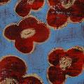 Flowers 5, oil on canvas, 12x16 Janet Hamilton