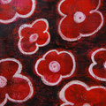 Flowers 11, oil on canvas, 30x24, Janet Hamilton