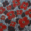 Flowers 13, oil on canvas, 36x36, Janet Hamilton