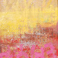 Abstract Landscape H, mixed media on canvas, 20x24, Janet Hamilton