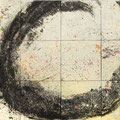 'Spring Storm' by Hiromi Tanaka, 72X96, Mixed Media
