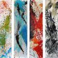 'Four Seasons' by Hiromi Tanaka, 80X60, Mixed Media