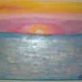 15 Sonnenaufgang    Acryl/Keilrahmen 40x30     30 €