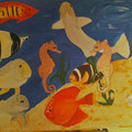 11 Sea  life   Acryl/Keilrahmen 80x60     85 €