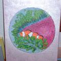 14 Clownfisch   Acryl/Keilrahmen 30x40     30 €