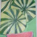 38 Melonen     Acryl/Keilrahmen 20x40     30 €