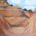 19 Canyon     Acryl/Keilrahmen 30x40     40 €