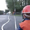 Löschangriff am Rodelberg, Foto: Till Hey